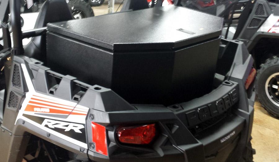 Polaris Rzr 570 14 Rear Cargo Box Diamond Fabrication